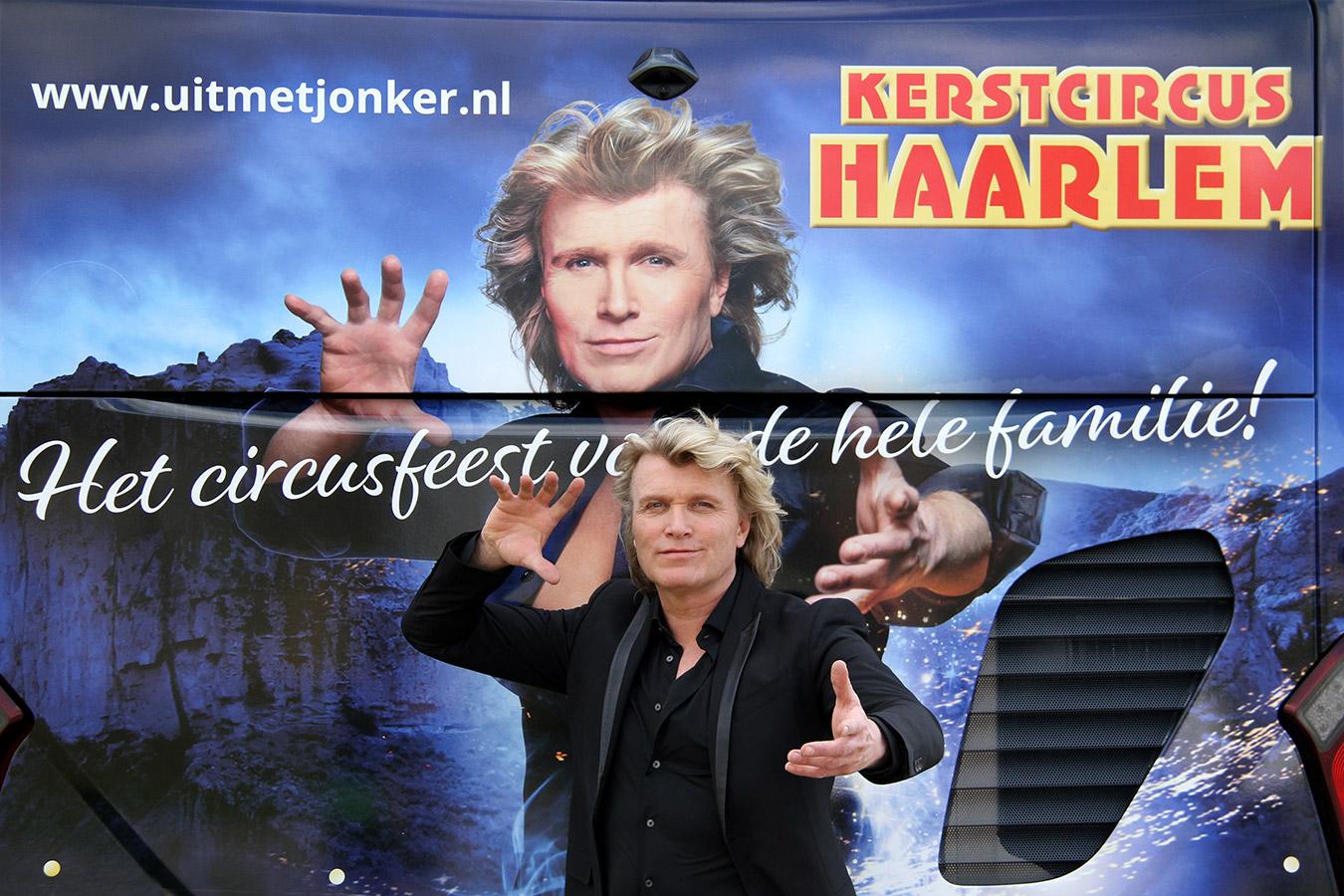 Hans Klok boegbeeld Kerstcircussen Nederland